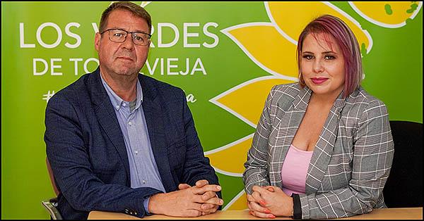Israel Muñoz y Carmen Morate (Los Verdes)