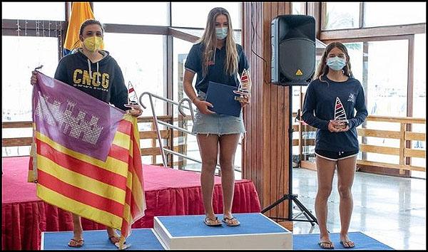 Adriana Castro (Oro-f) y Antonio López (4º-m) en la Copa de España de Ilca 4, ambos clasificados al equipo nacional para el europeo y el mundial