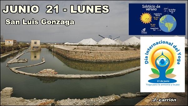 Agenda Torrevieja 21 de Junio de 2021