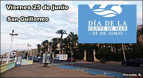 Agenda Viernes 25 de Junio de 2021 - San Guillermo