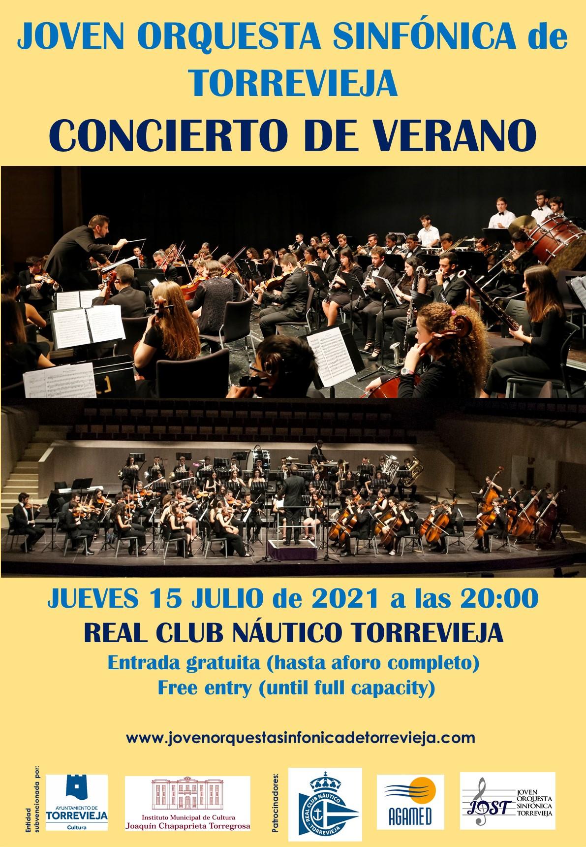 Concierto de Verano de la Joven Orquesta Sinfónica de Torrevieja