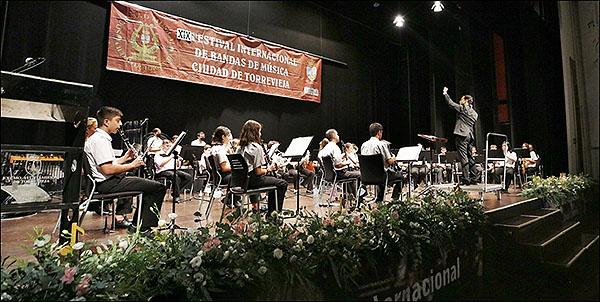 La Unión Lírica Orcelitana de Orihuela, dio un magnífico concierto en el Teatro