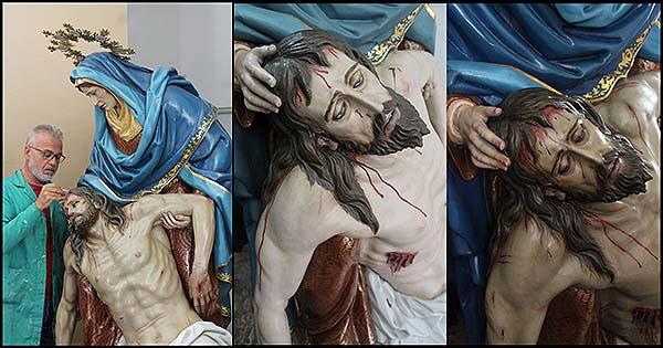 grupo escultórico de Nuestra Señora de la Piedad