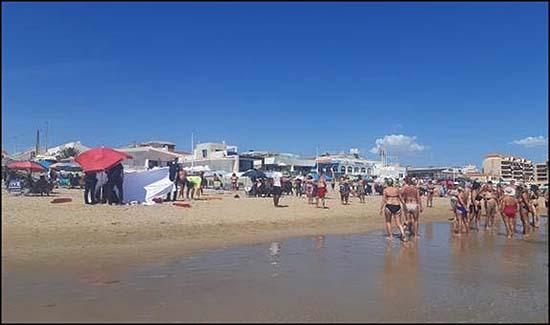 Fallecido en Playa de La Mata (Torrevieja)