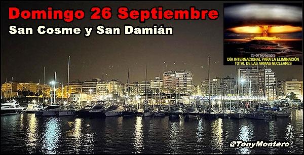 Agenda del fin de semana del 24 al 26 de septiembre (y III)