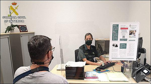 La Guardia Civil de Torrevieja formará parte de la fase piloto de implantación de la cita previa