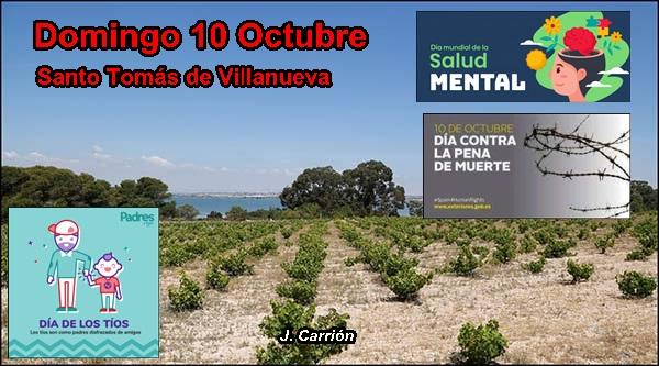 Agenda del fin de semana del 8 al 10 de octubre (y III)