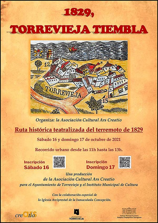 Ruta histórica teatralizada del terremoto de 1829